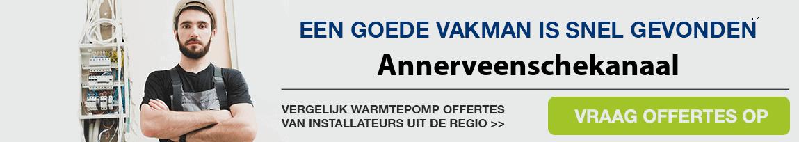 cv ketel vervangen door warmtepomp in Annerveenschekanaal