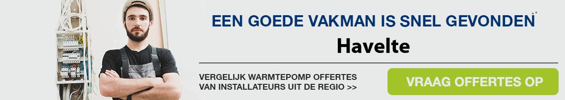cv ketel vervangen door warmtepomp in Havelte