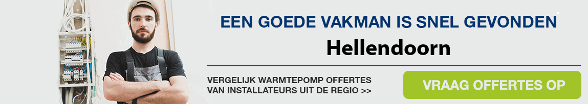 cv ketel vervangen door warmtepomp in Hellendoorn