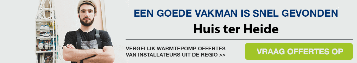 cv ketel vervangen door warmtepomp in Huis ter Heide