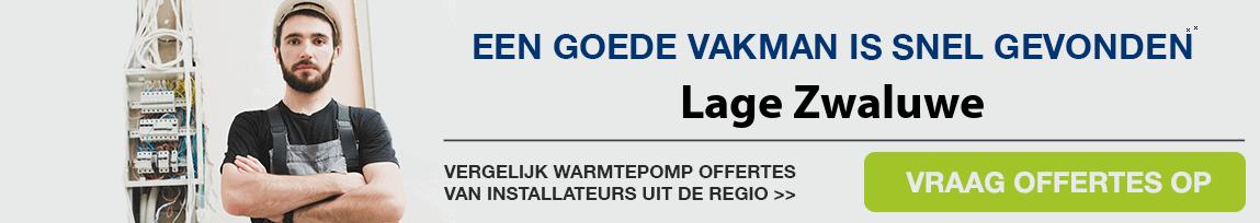 cv ketel vervangen door warmtepomp in Lage Zwaluwe
