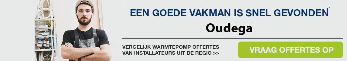 cv ketel vervangen door warmtepomp in Oudega