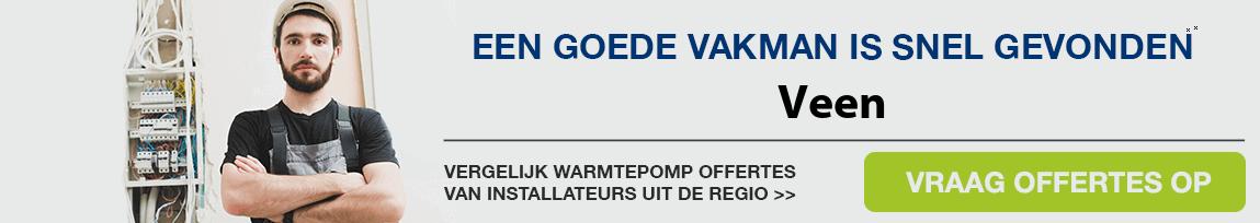 cv ketel vervangen door warmtepomp in Veen